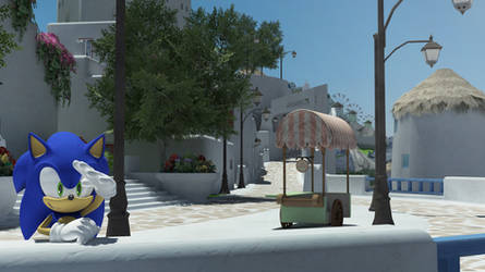 Hedgehog in Apotos. by itsHelias94