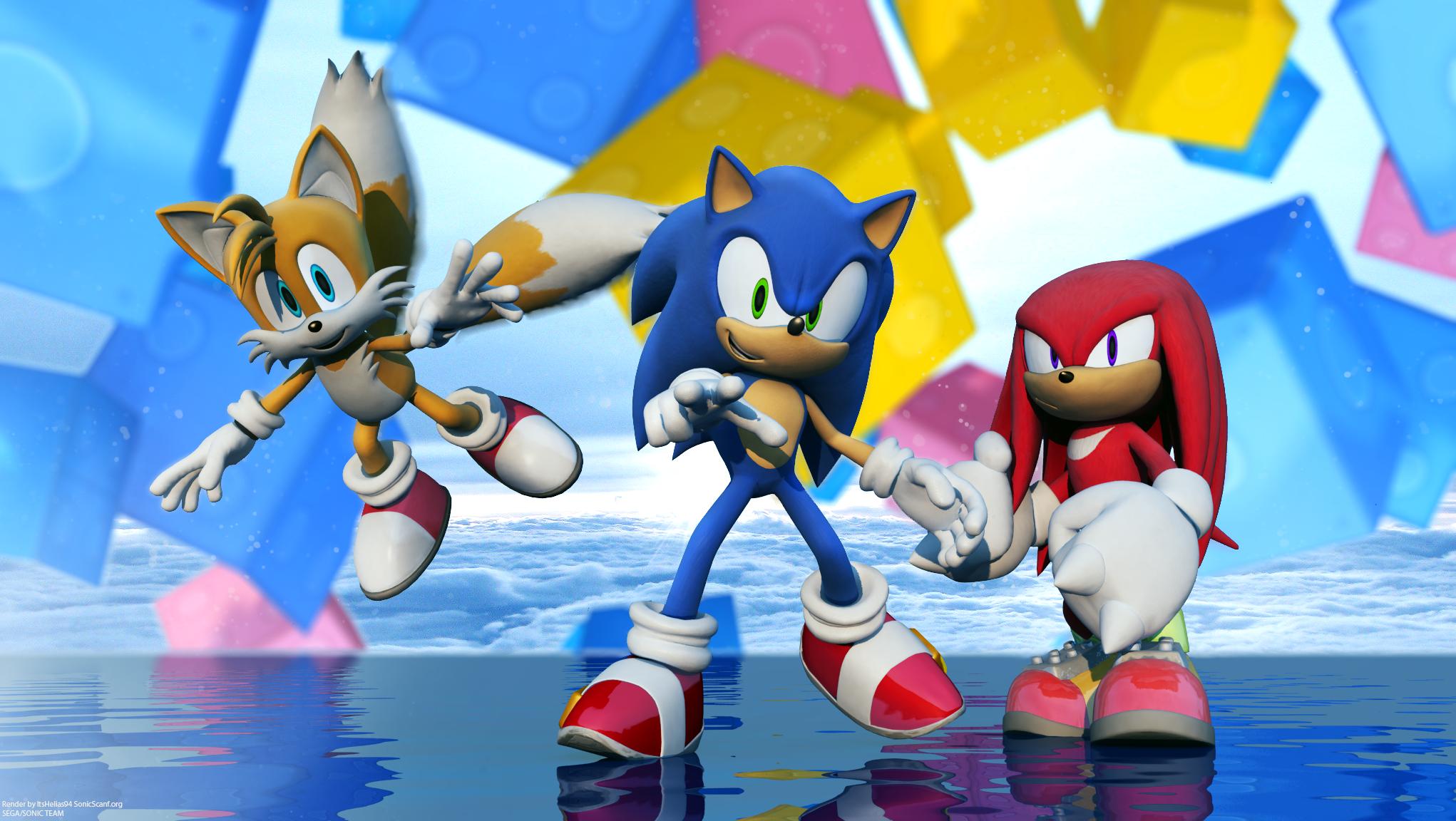 Sonic Heroes by itsHelias94