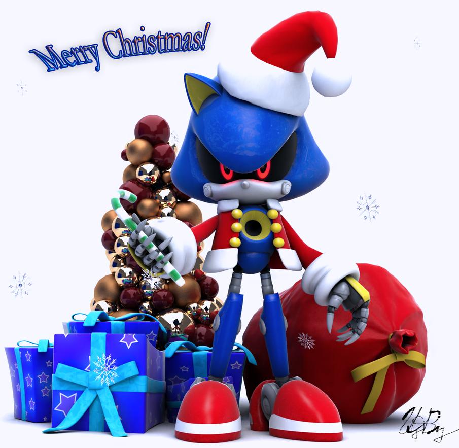 Metal Santa by itsHelias94