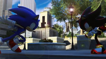 Fake Hedgehog! by itsHelias94