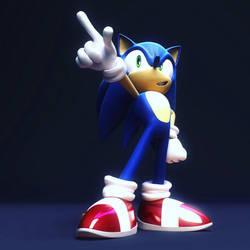 Sonic V-Ray by itsHelias94