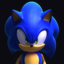 Modern Sonic by itsHelias94