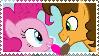 Cheese Sandwich x Pinkie Pie stamp by ThdPinkBiddyKitty
