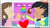 Audrey x Melvin stamp (Harvey street kids) by ThdPinkBiddyKitty