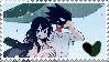 tokoyami x tsuyu/froppy stamp