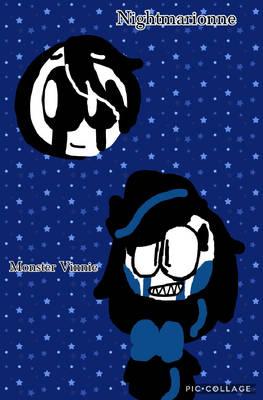 Nightmarionne and Monster Vinnie