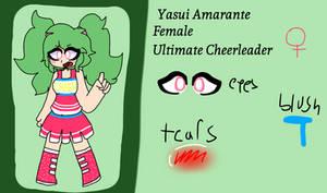 Yasui Amarante ref (Danganronpa A New Story)