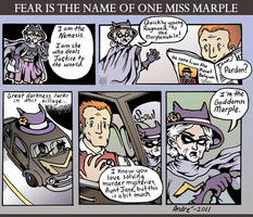 Miss Marple saves the day by AndrePaploo