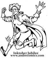 Jubilee for Inktober by AndrePaploo