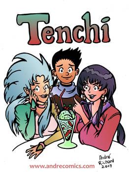 Tenchi Muyo Ryoko and Ayeka Archie style