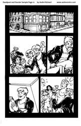 Deadpool and Dazzler sample page 1