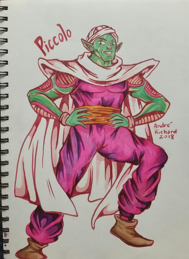 Piccolo from Dragon Ball Z by AndrePaploo