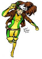 X-men Rogue doodle, Ya'all! by AndrePaploo
