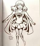 Supergirl Inktober
