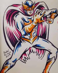 Defenders Nighthawk Kyle Richmond by AndrePaploo