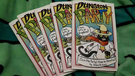 New Minicomic Dungeon Party 1 !