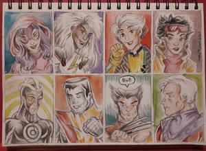 X-men Storm Wolverine Havok Magneto Jubilee etc