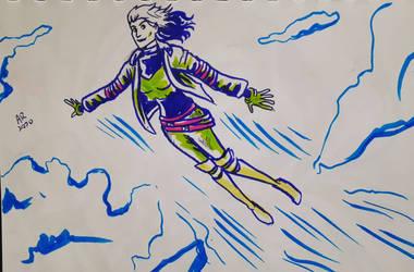 Rogue Anna Paquin doodle