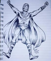 Magneto X-men doodle