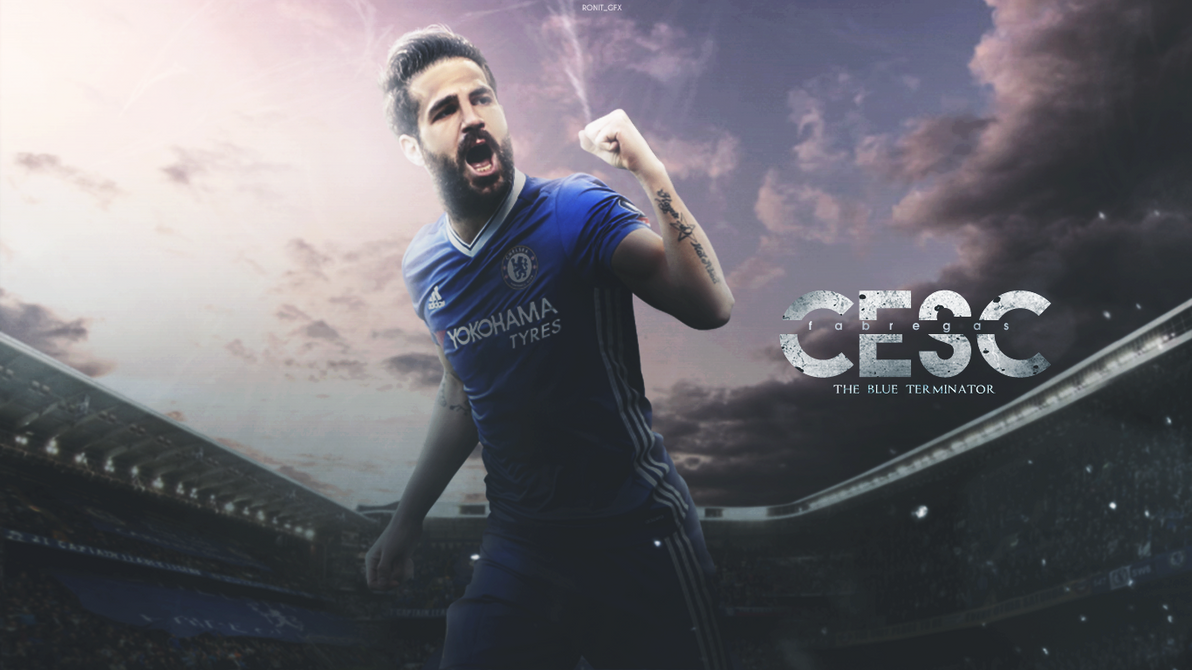 Cesc Fabregas 2017 Wallpaper by RonitGFX on DeviantArt