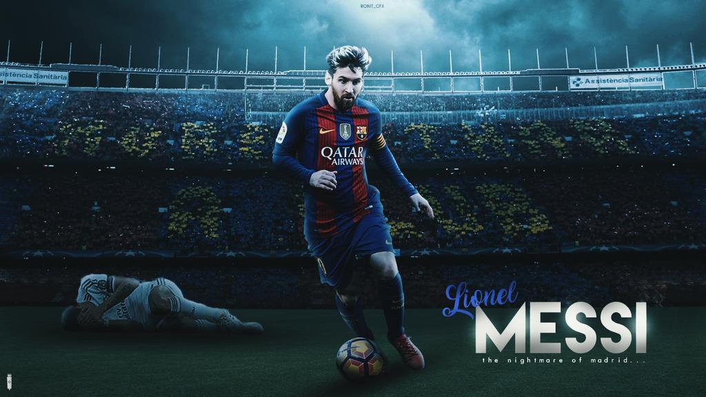 Lionel Messi Wallpaper 2017 By RonitGFX On DeviantArt
