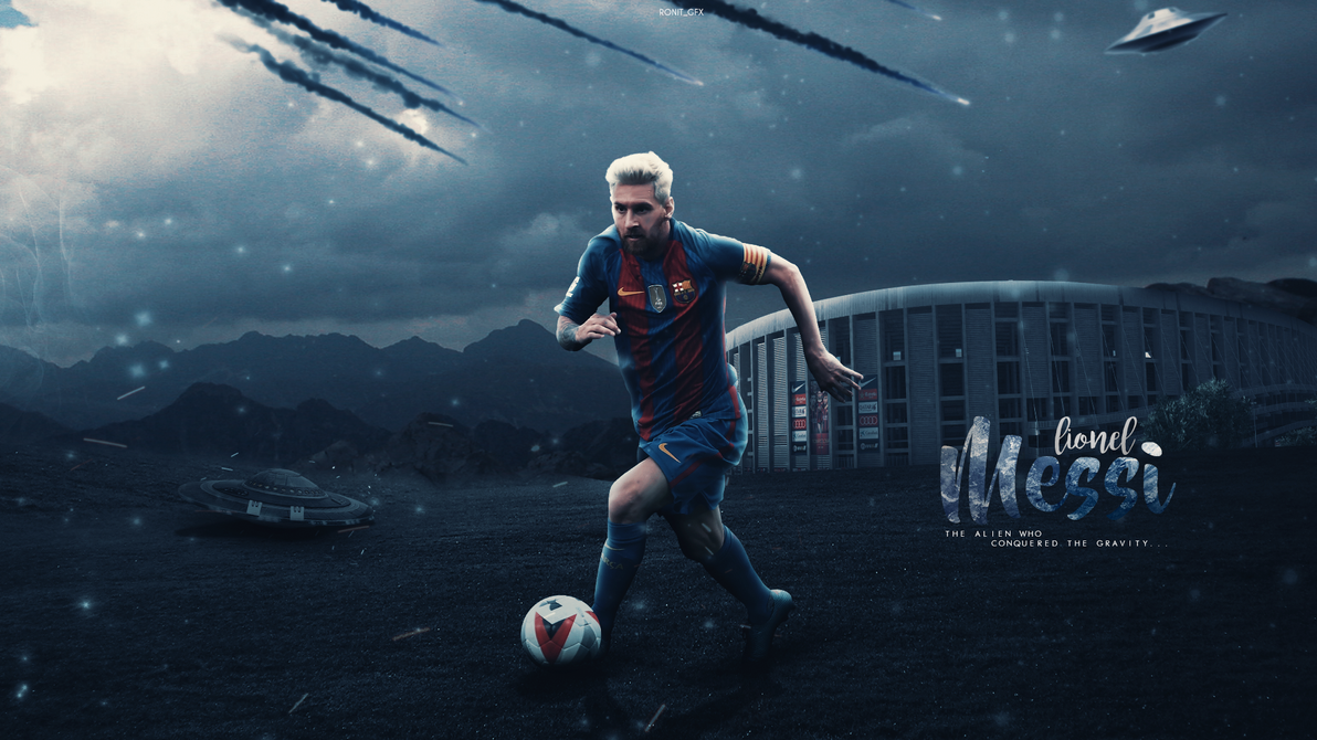 Lionel Messi Wallpaper 2017 By RonitGFX