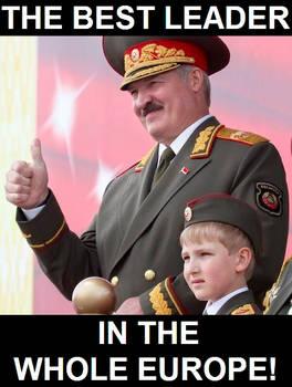 Support for Alexander Lukashenka