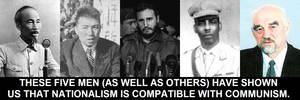 Nationalism is compatible with communism