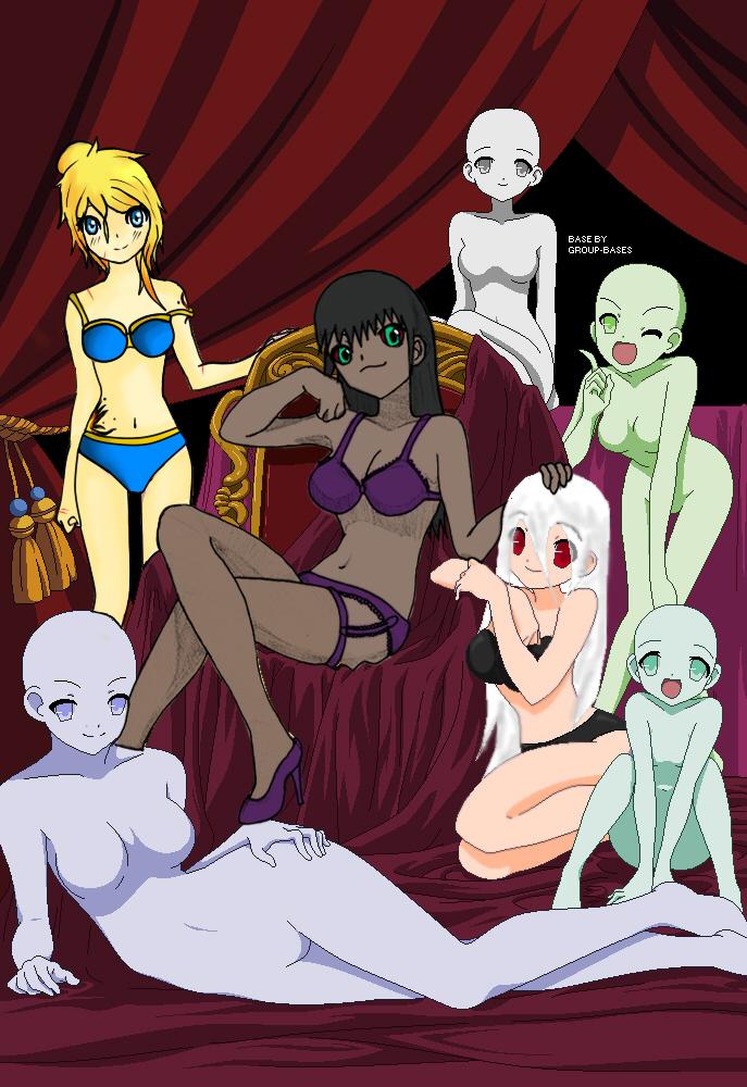 Girls just wanna have fun *collab* by Skarabog