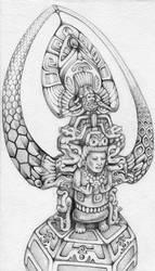 Galactic Maya by farboart