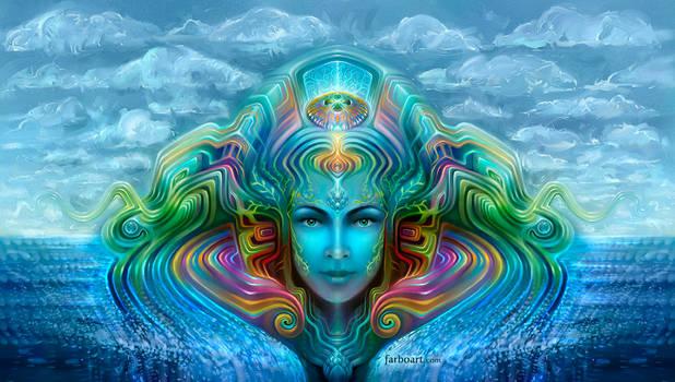 Jellyfish Goddess