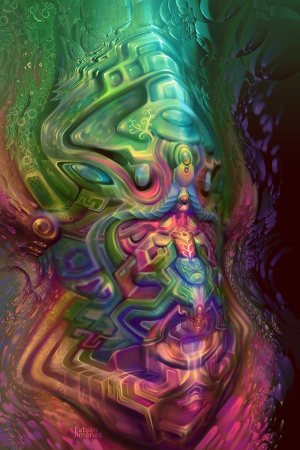 Opalescent Portal by farboart