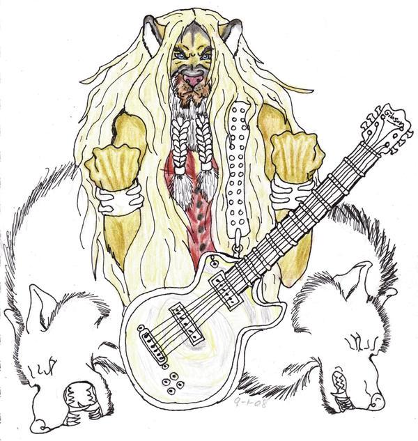 Zakk and Dogs of Mayhem WIP 2 by crystalaki