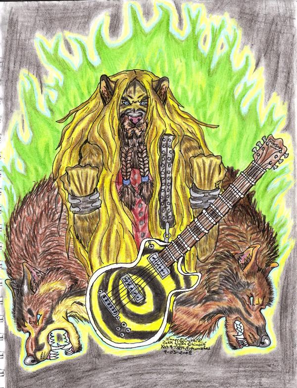 Zakk and the Dogs of Mayhem by crystalaki