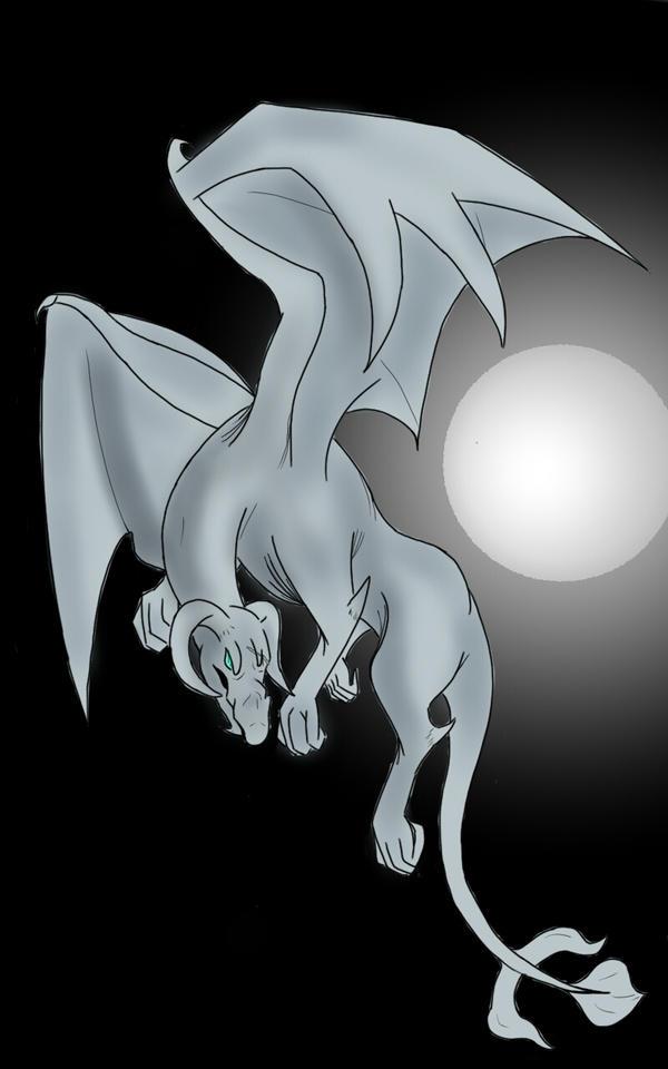 Moonlight Dragon by NineTails-Kyuubi