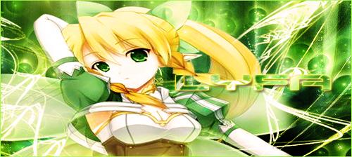 Sword Art Online -  Lyfa Signature/Banner by KaiserNazrin
