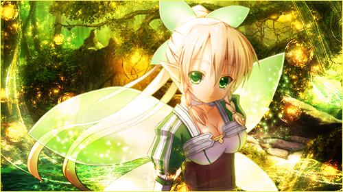Sword Art Online - Lyfa Signature/Banner 2 by KaiserNazrin