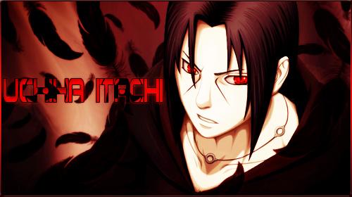 Naruto - Uchiha Itachi Signature by KaiserNazrin
