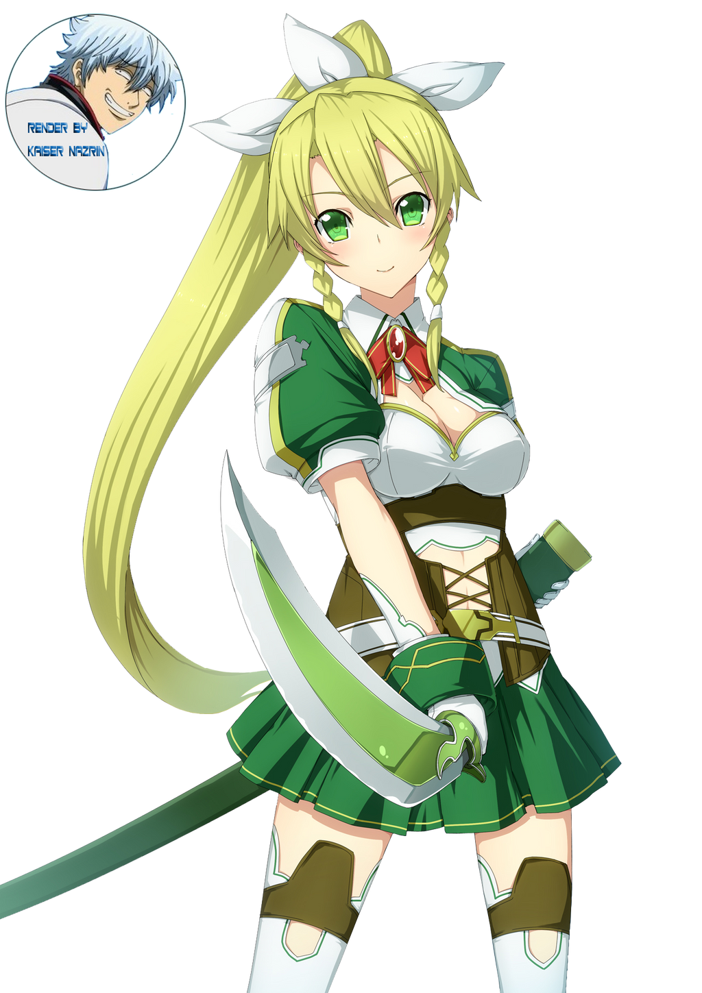 Sword Art Online - Lyfa Render 3 by KaiserNazrin