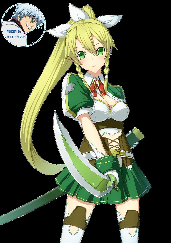 Sword Art Online - Lyfa Render 3 by KaiserNazrin