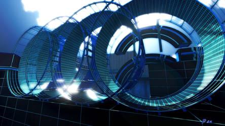 Tron Loops by panmann