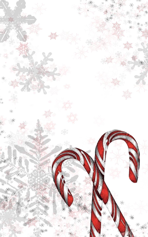 Christmas Invitation Templates Candy cane holiday invitation
