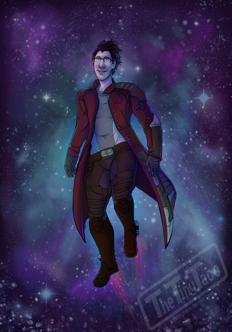 Star Lord Markiplier by TheTinyTaco