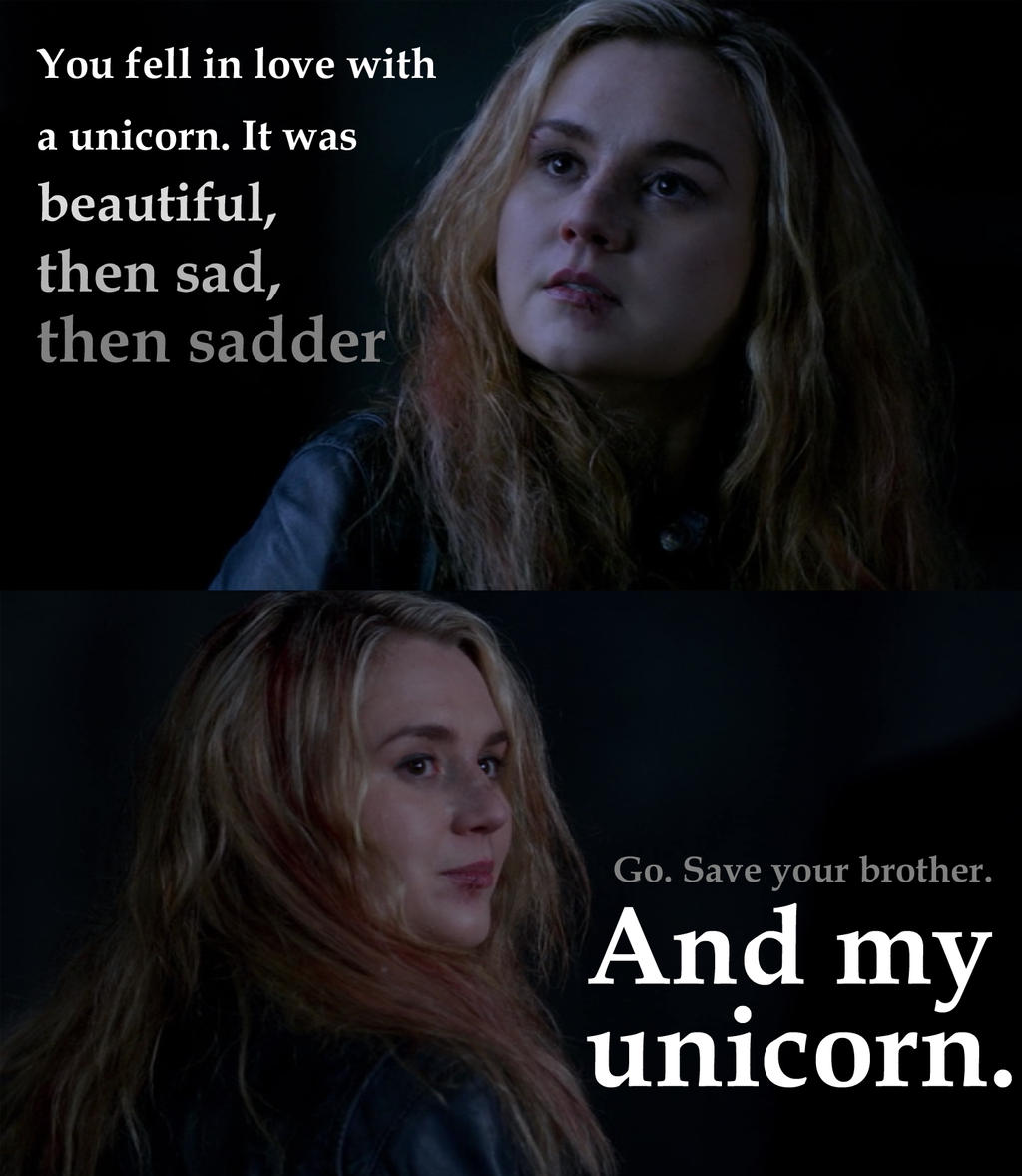 Meg's Unicorn by isaacsflower