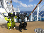 Ironhide and Ratchet At Sea