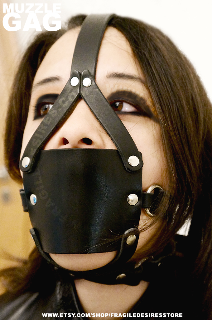 Muzzle Gag ready and yummmmmm by FragileDesires