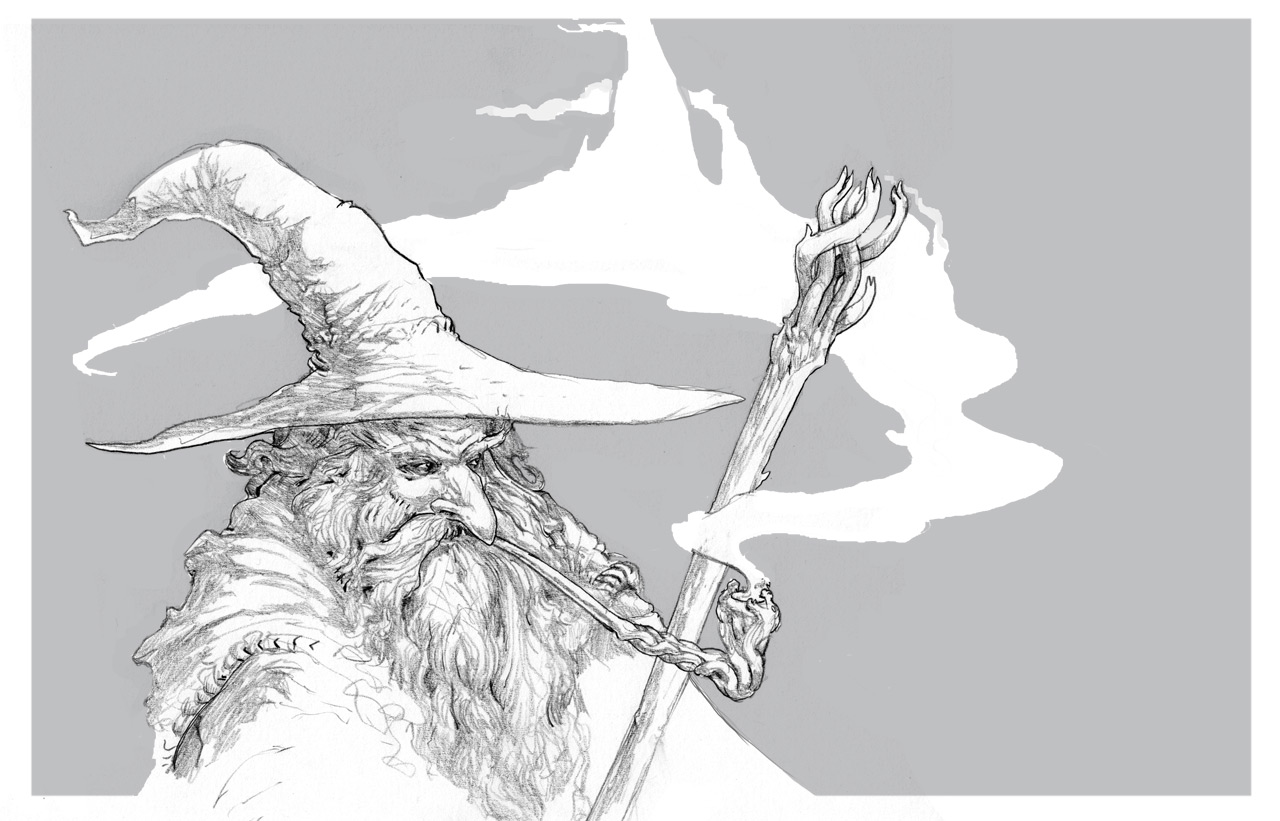 Gandalf by Stephen-0akley