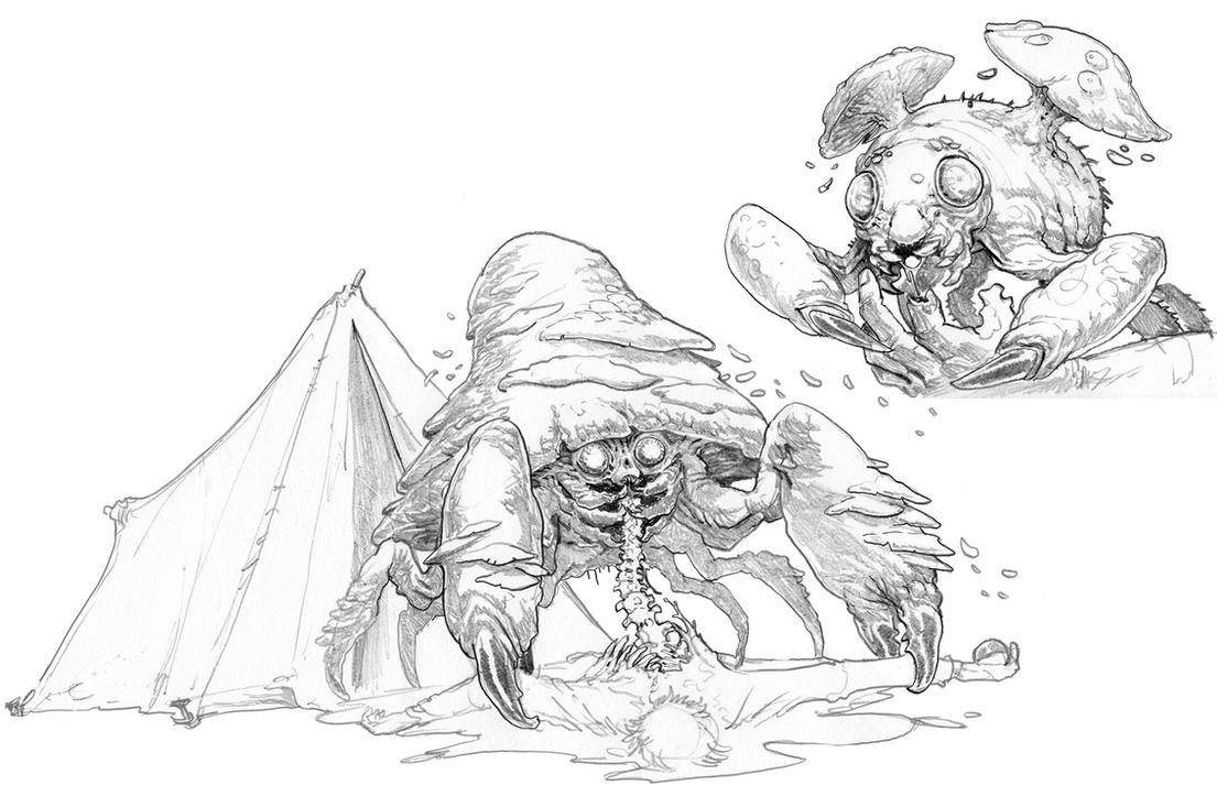 Parasect-and-Paras-Pencils by Stephen-0akley
