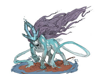 Suicune Color by Stephen-0akley