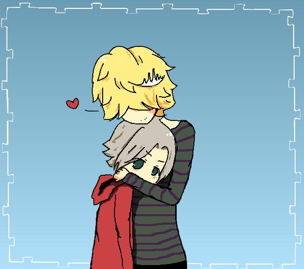 hug . by CuteCakeDream